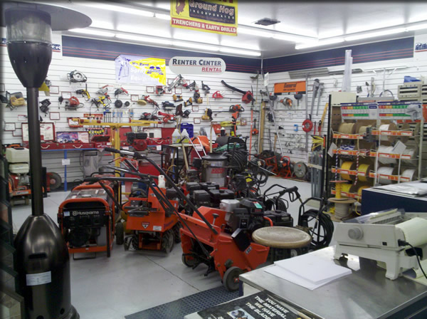 Our Rental Center has a large selection to choose from